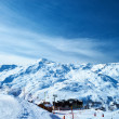 Mountains with snow in winter — Stock Photo #33054405