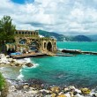 ligurian coast — Stock Photo