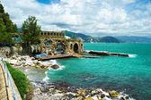 Ligurian coast — Stock Photo