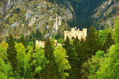 The castle of Hohenschwangau in Germany — Stock Photo