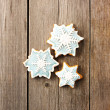 Christmas gingerbread cookie — Stock Photo #33501165