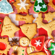 Christmas gingerbread cookies — Stock Photo #33501281