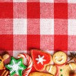 Christmas gingerbread cookies — Stock Photo #33501413