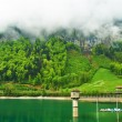 Mountain lake in Switzerland  — Stock Photo