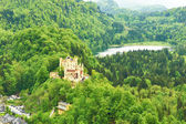 Castle of Hohenschwangau in Germany — Stock Photo