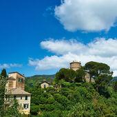 Castello Brown near Portofino village — Stock Photo