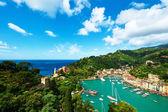 Portofino village on Ligurian coast — Stock Photo