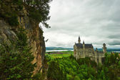 The castle of Neuschwanstein in Germany — Stock Photo