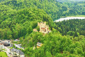 Castle of Hohenschwangau — Stock Photo