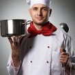 Male chef portrait — Stock Photo