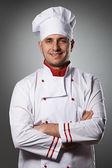 Male chef portrait — Stock Photo
