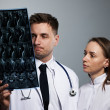 Stock Photo: Medical doctors team