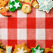 Christmas gingerbread cookies — Stock Photo #35367781