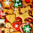 Christmas gingerbread cookies — Stock Photo #35367843
