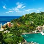 Portofino village on Ligurian coast, Italy — Stock Photo #35367953