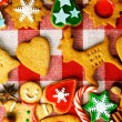 Christmas gingerbread cookies — Stock Photo #35959667
