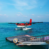 Twin otter seaplane — Foto Stock