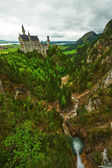 The castle of Neuschwanstein — Stock Photo