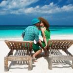 Couple at Maldives — Stock Photo #42506347