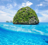 Beautiful island in Thailand — Foto Stock