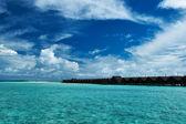 Herrlichen strand von malediven — Stockfoto