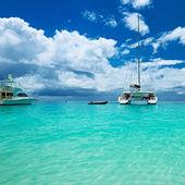 Boats at Seychelles — Stock Photo