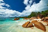 Güzel plaj, seyşel adaları — Stok fotoğraf