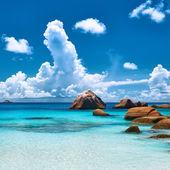 Strand van Seychellen — Stockfoto