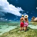 Couple on beach — Stock Photo