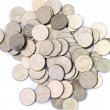 Ukrainian coins — Stock Photo