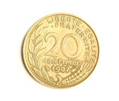 20 centesimi — Foto Stock
