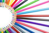 Matite di colore nel concetto di creatività — Foto Stock