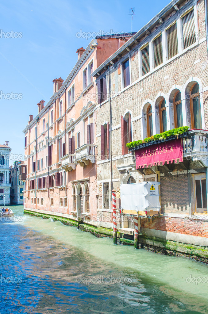 City views of venice in Italy — Stock Photo #12542450