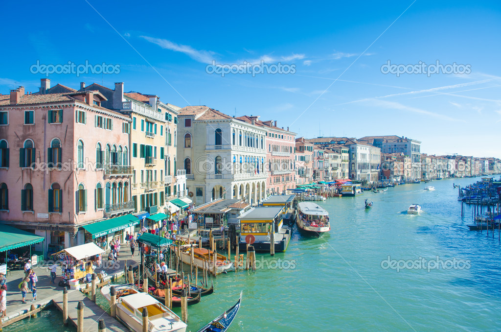 City views of venice in Italy  Stock Photo #12542480