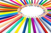 創造性の概念で色鉛筆 — ストック写真