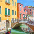 City views of venice in Italy — ストック写真