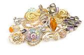 Lotes de jóias em branco — Fotografia Stock