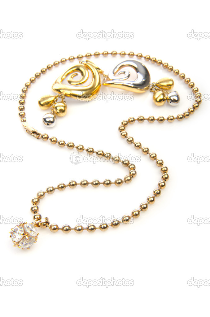 Jewellery on the white background  Stock Photo #13298150