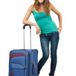 Young woman ready for summer vacation — Stock Photo #13633205