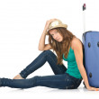 Young woman ready for summer vacation — Stock Photo #13633217