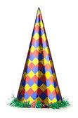 Sombrero del partido aislado en el blanco — Foto de Stock