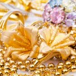 Royalty-Free Stock Photo: Large collection of gold jewellery