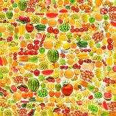 Cetrioli fatte da molti frutti e verdure — Foto Stock