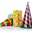 Party items on the white — Stock Photo #14048548