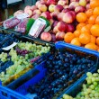 Foto Stock: Fruits at market stall