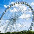 Stock Photo: Ferris wheel in entertainment center