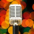 Vintage microphone isolated on the white — Stock Photo #1637783