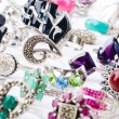 Selection of many precious rings - Lizenzfreies Foto