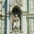 Elements architecture of cathedral in Florence — Stock Photo #18934341