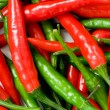 Red and green chili peppers — Stock Photo #1952045